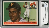 1955 Topps #164 Roberto Clemente RC front image