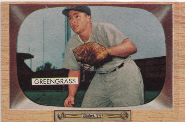 1955 Bowman #49 Jim Greengrass