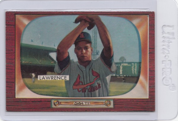1955 Bowman #75 Brooks Lawrence RC