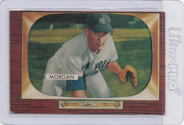 1955 Bowman #100 Tom Morgan