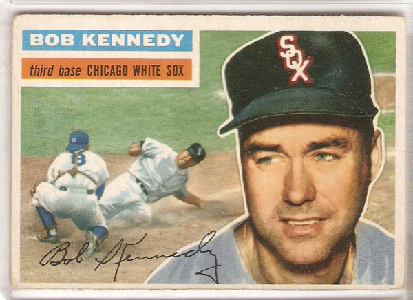 1956 Topps #38A Bob Kennedy GB