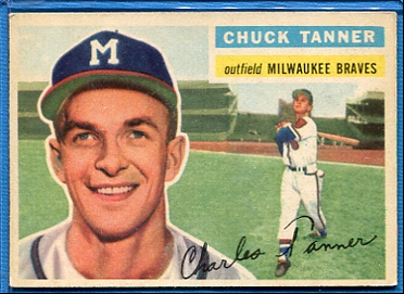 1956 Topps #69 Chuck Tanner