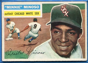 1956 Topps #125 Minnie Minoso