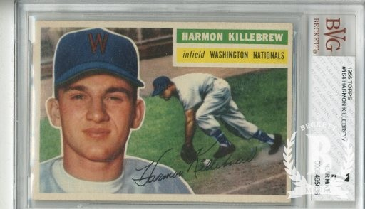 1956 Topps #164 Harmon Killebrew