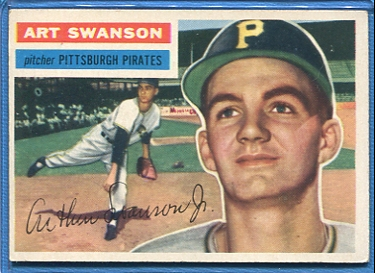 1956 Topps #204 Art Swanson RC