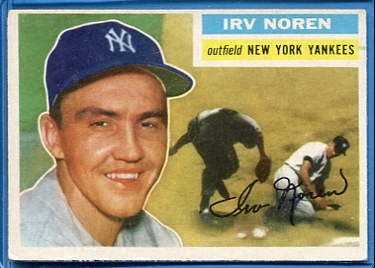 1956 Topps #253 Irv Noren