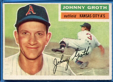 1956 Topps #279 Johnny Groth