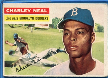 1956 Topps #299 Charlie Neal