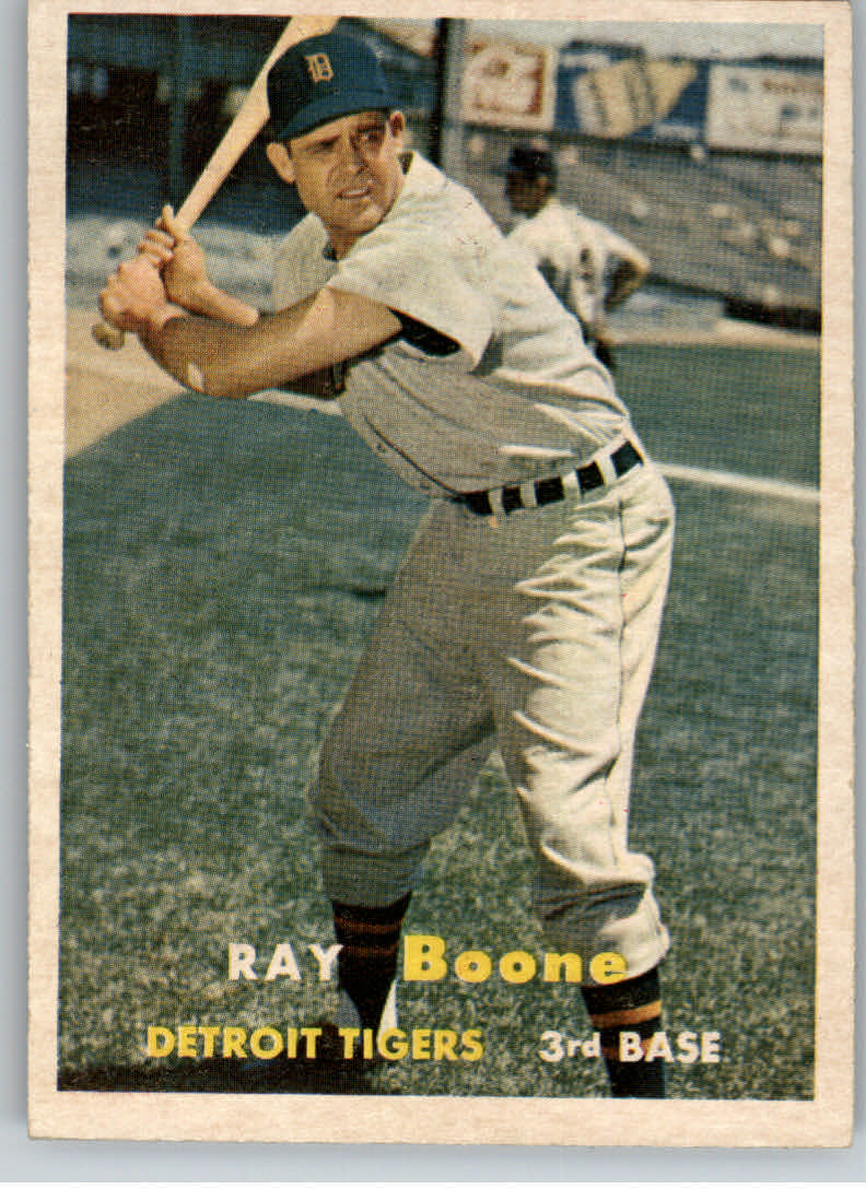 1957 Topps #102 Ray Boone