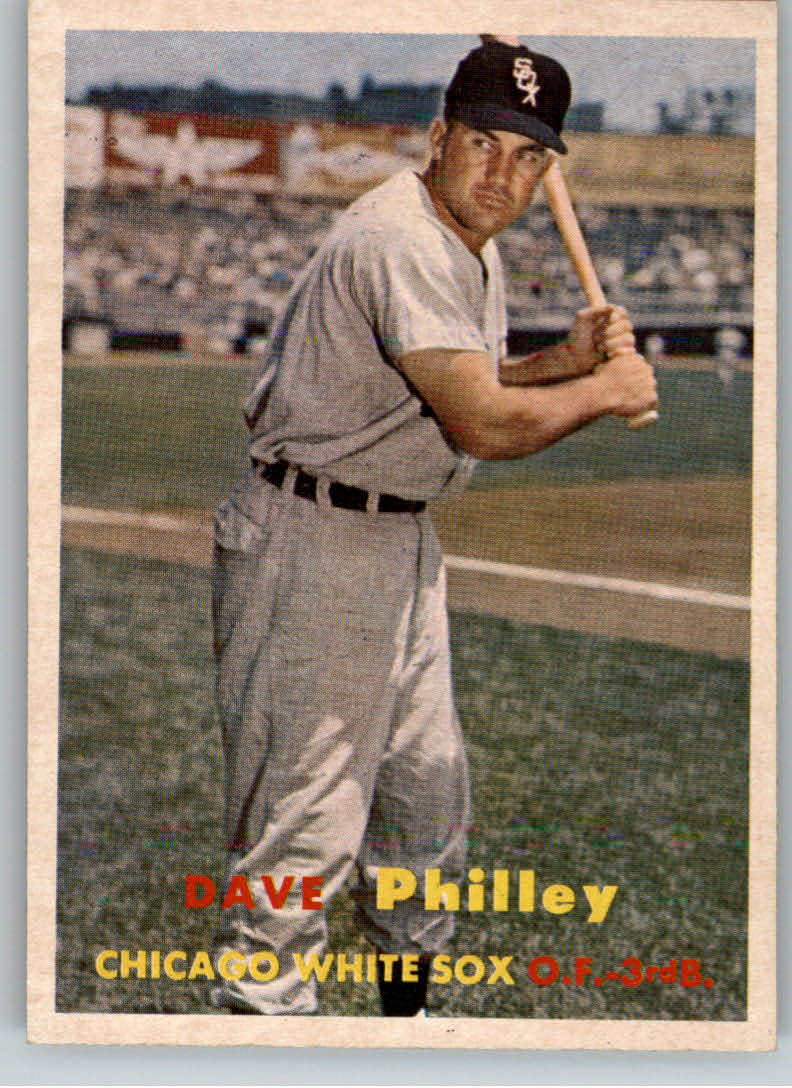 1957 Topps #124 Dave Philley