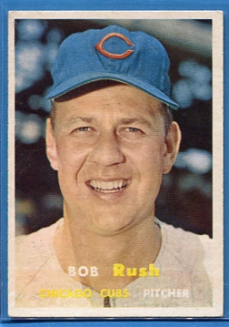 1957 Topps #137 Bob Rush