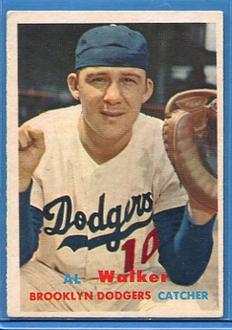 1957 Topps #147 Al Walker