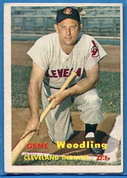 1957 Topps #172 Gene Woodling