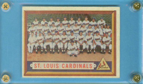1957 Topps #243 St. Louis Cardinals TC