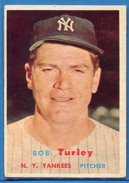 1957 Topps #264 Bob Turley