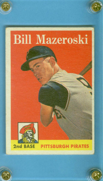 1958 Topps #238 Bill Mazeroski