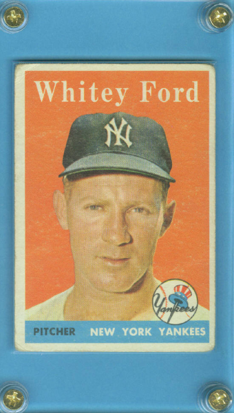 1958 Topps #320 Whitey Ford