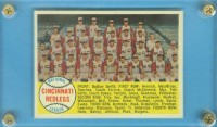 1958 Topps #428A Cincinnati Reds TC Alphabetical front image