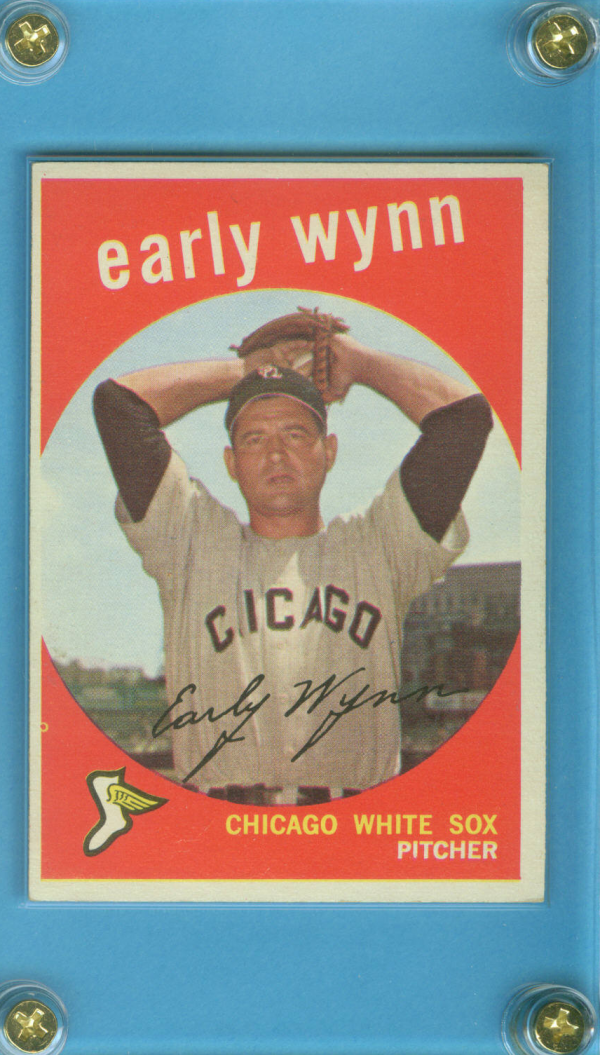 1959 Topps #260A Early Wynn GB
