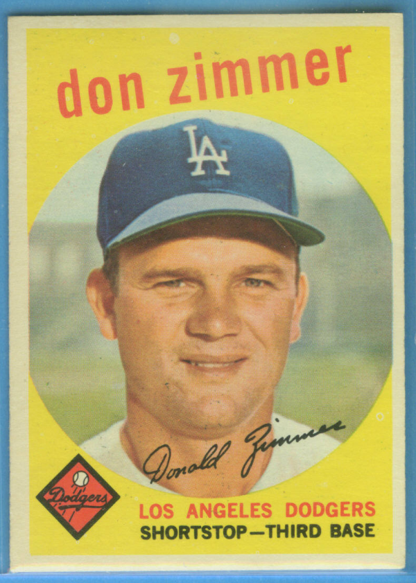 1959 Topps #287 Don Zimmer