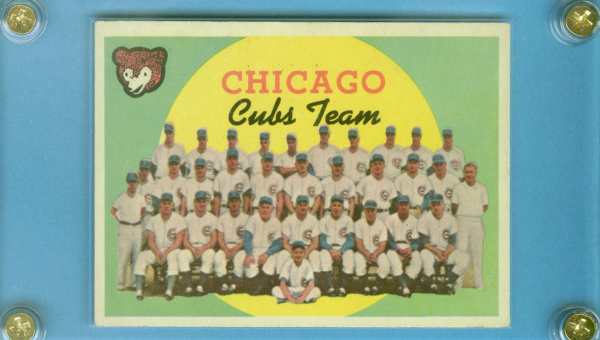 1959 Topps #304 Chicago Cubs CL