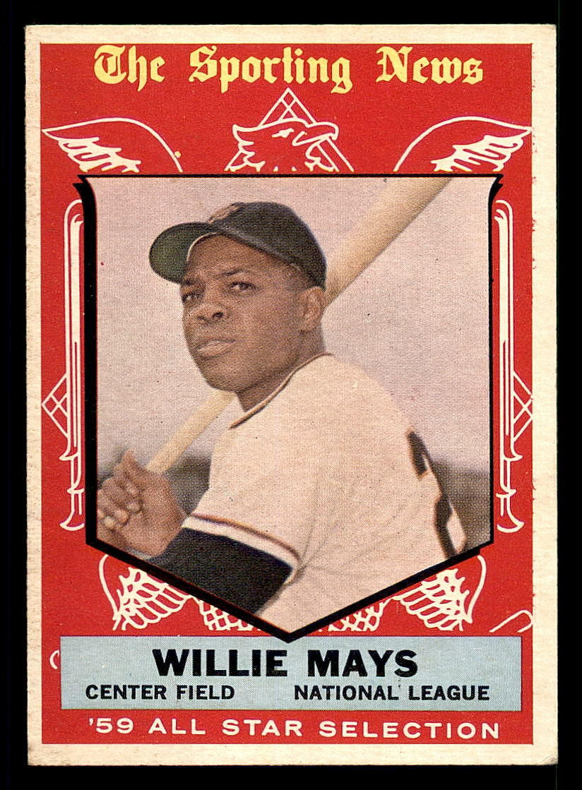 1959 Topps #563 Willie Mays AS