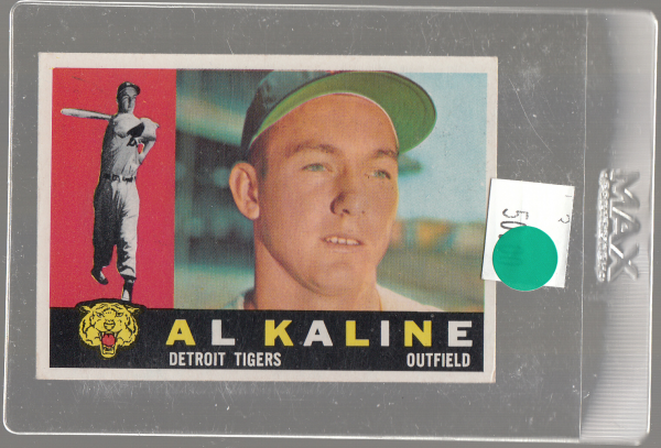 1960 Topps #50 Al Kaline