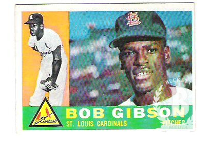 1960 Topps #73 Bob Gibson
