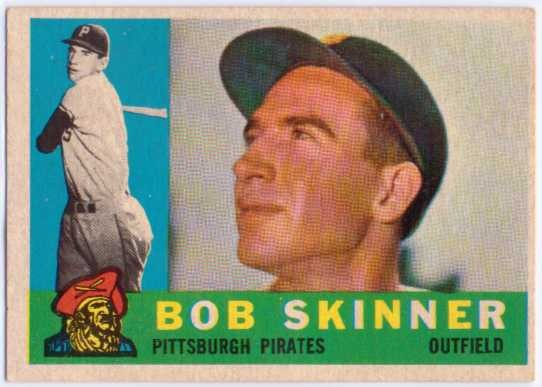 1960 Topps #113 Bob Skinner