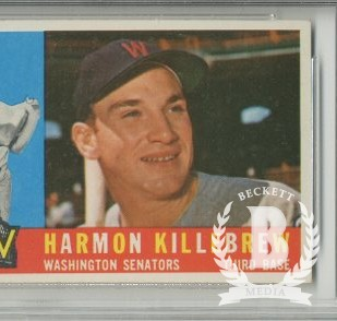 1960 Topps #210 Harmon Killebrew