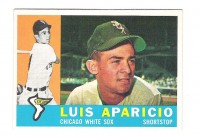 1960 Topps #240 Luis Aparicio front image