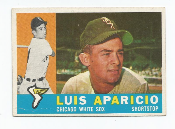 1960 Topps #240 Luis Aparicio