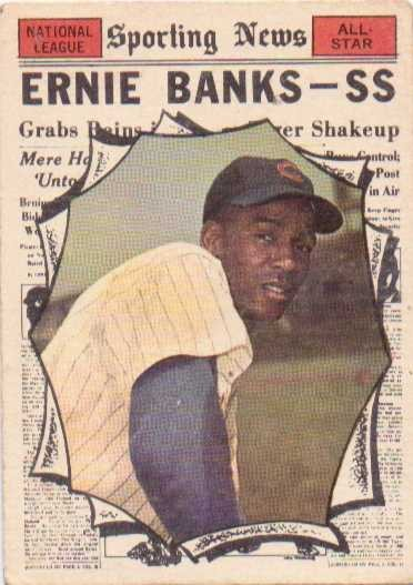 1961 Topps #575 Ernie Banks AS