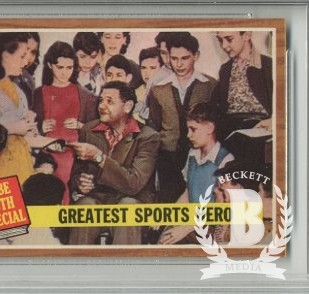 1962 Topps #143 Babe Ruth Special 9/Greatest Sports Hero