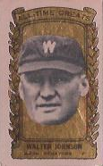 1963 Bazooka ATG #12 Walter Johnson