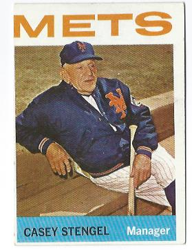 1964 Topps #324 Casey Stengel MG