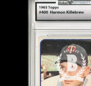 1965 Topps #400 Harmon Killebrew
