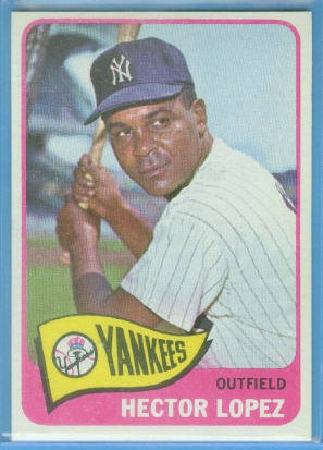 1965 Topps #532 Hector Lopez