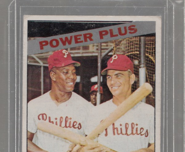 1966 Topps #52 Power Plus/Wes Covington/Johnny Callison