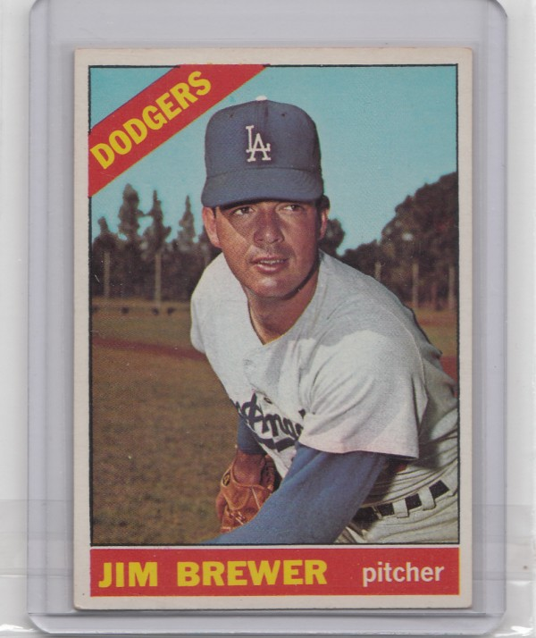 1966 Topps #158 Jim Brewer