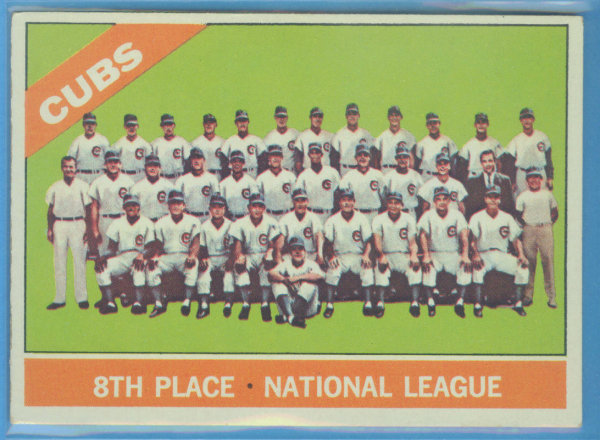 1966 Topps #204 Chicago Cubs TC