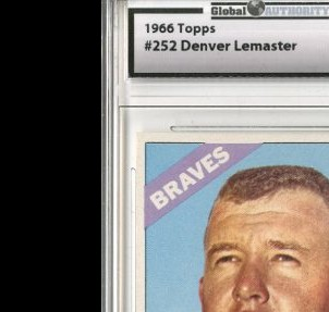 1966 Topps #252 Denny Lemaster