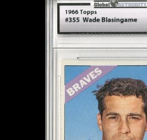 1966 Topps #355 Wade Blasingame