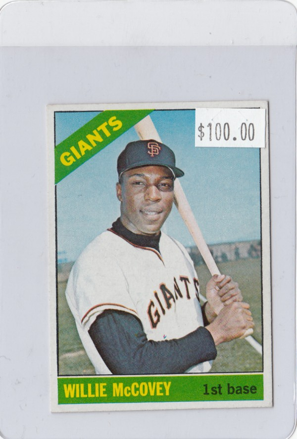 1966 Topps #550 Willie McCovey SP