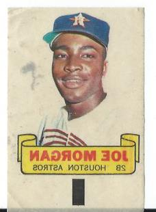 1966 Topps Rub-Offs #69 Joe Morgan