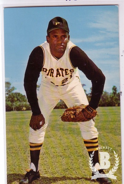 1968 Dexter Press #24 Roberto Clemente