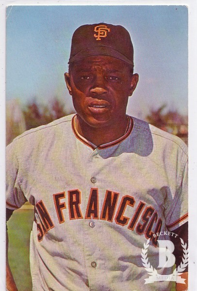 1968 Dexter Press #51 Willie Mays