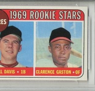 1969 Topps #304 Rookie Stars/Bill Davis/Clarence Gaston RC