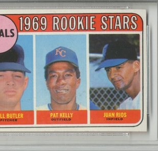 1969 Topps #619 Rookie Stars/Bill Butler RC/Pat Kelly RC/Juan Rios RC