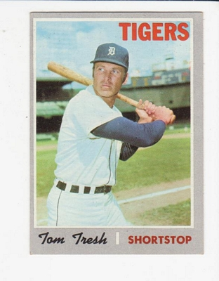 1970 Topps #698 Tom Tresh